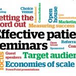 Modern twists on effective patient seminars