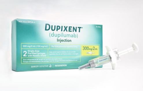 FDA approves new eczema drug Dupixent