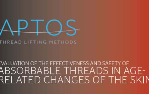 Evaluation of the effectiveness and safety of absorbable threads in age- related changes of the skin