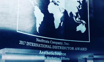AestheticSource wins NeoStrata company Inc creative marketing effort award