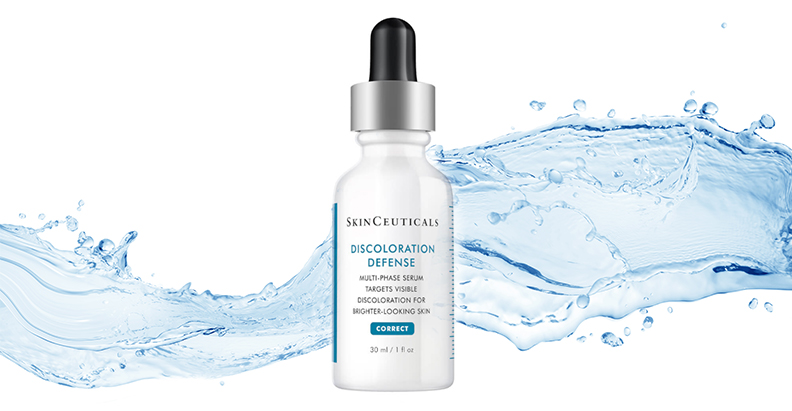 New discoloration defense serum from skinceuticals Fast reduction in visible discolouration